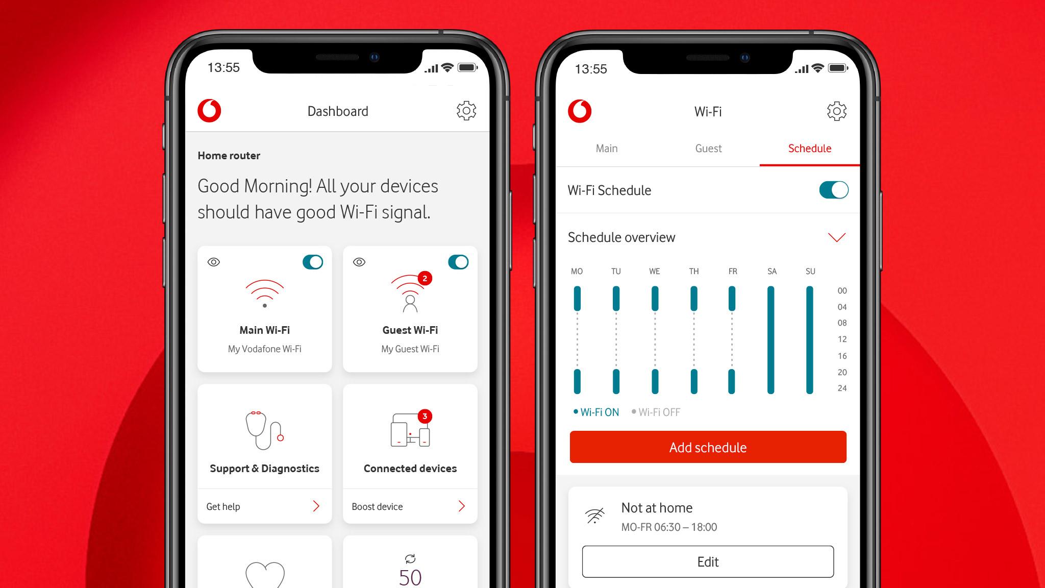 Vodafone app range | Make life easier